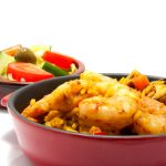 Paella – plody mora s ryžou