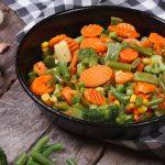 Zelenina na panvici