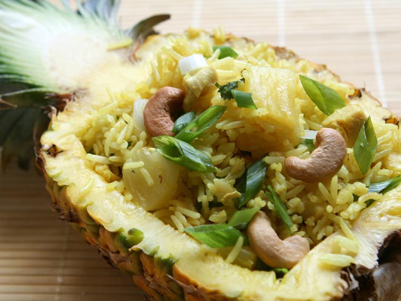 ryžový šalát