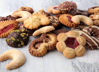 Strojčekové sušienky s krémovým práškom