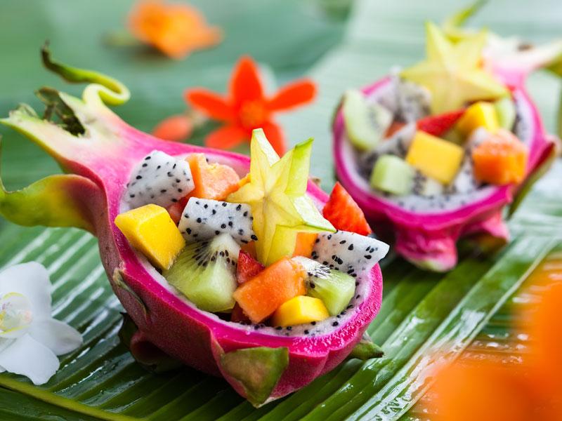 Exoticky ovocný šalát