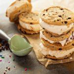 Chrumkavé sušienky so zmrzlinou