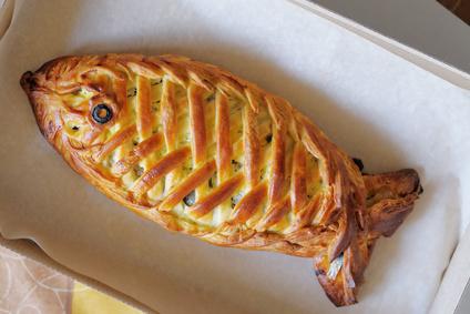 Zapečený tuniak