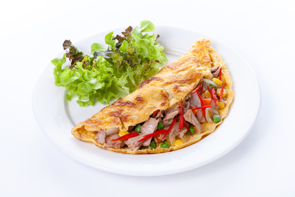 Vajíčková omeleta alla pugliese