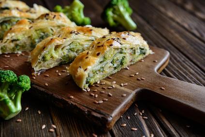 Závin s brokolicou