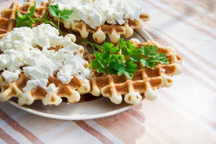 Syrové wafle