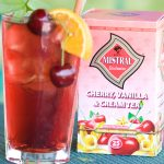 Cherry tea with a touch of raspberry