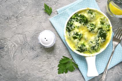Brokolica zapečená so syrom