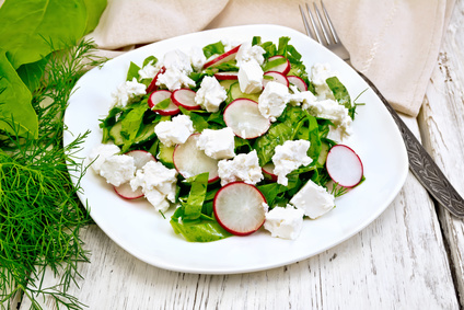 spenatovy salat