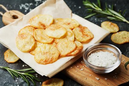 Domáce zemiakové lupienky