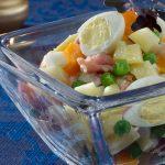 Sviatočný zemiakový šalát
