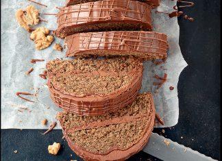 Čokoládový chlebíček s vlašskými orechmi