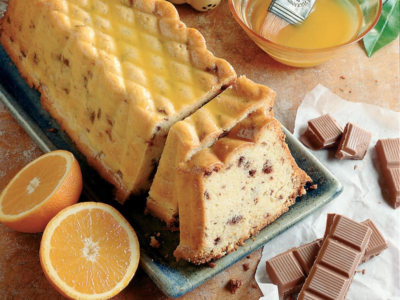 Pomarančovo-čokoládový chlebíček