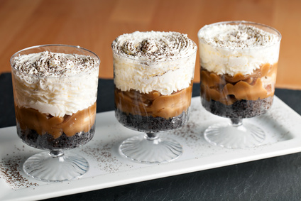 Perníkové trifle