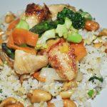 Kurací wok so zeleninou