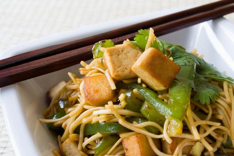 Cestoviny s tofu