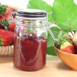 Jahodový džem s likérom