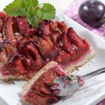Slivkový koláč