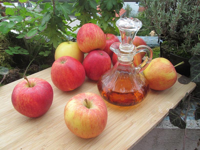 jablčný ocot pomôže