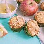 Jabĺčkové mafinky