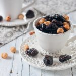 Slivkový dezert so zázvorom
