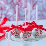 Valentínske popcakes