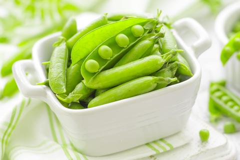 Zelený hrášok