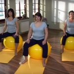 Kegelove cviky – Cvičenie s loptou