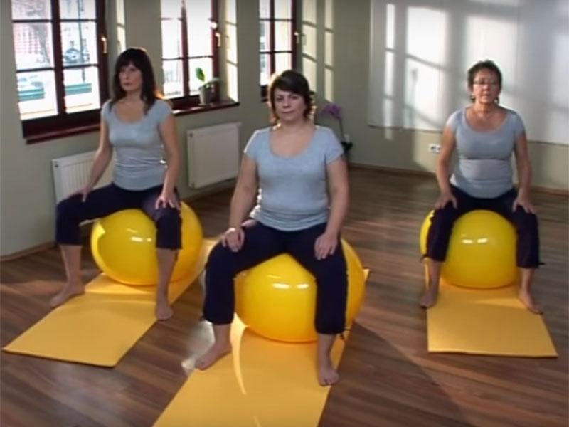 Cvičenie s loptou