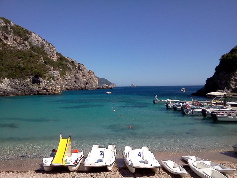 Korfu plaz