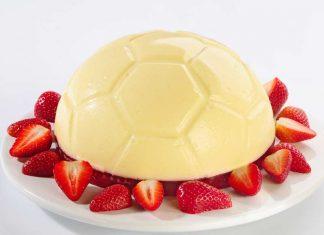 Futbalový cheesecake