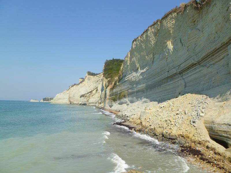 Korfu pobrezie