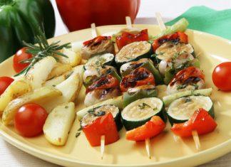 zelenina na grile