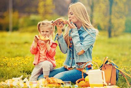 piknik s deťmi