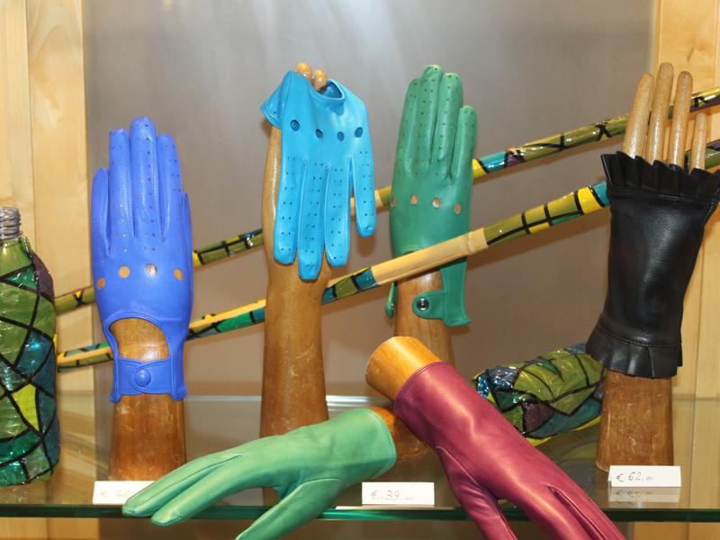 Florencia, rukavičky