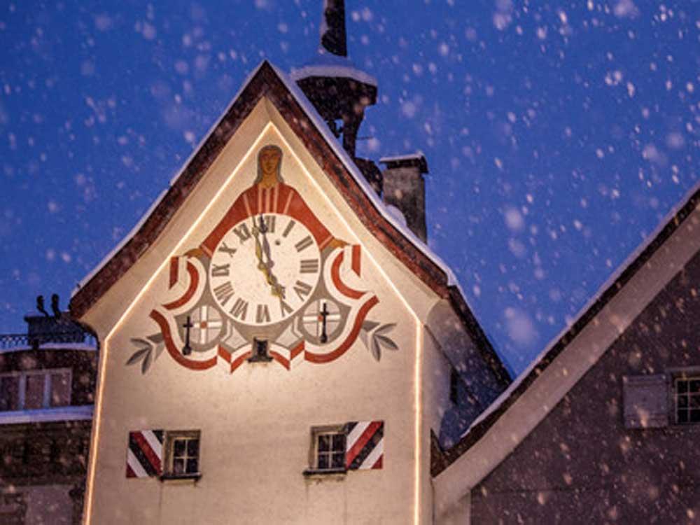 Chur, Obertor v zime, Chur © Chur Tourismus/Andrea Badrut