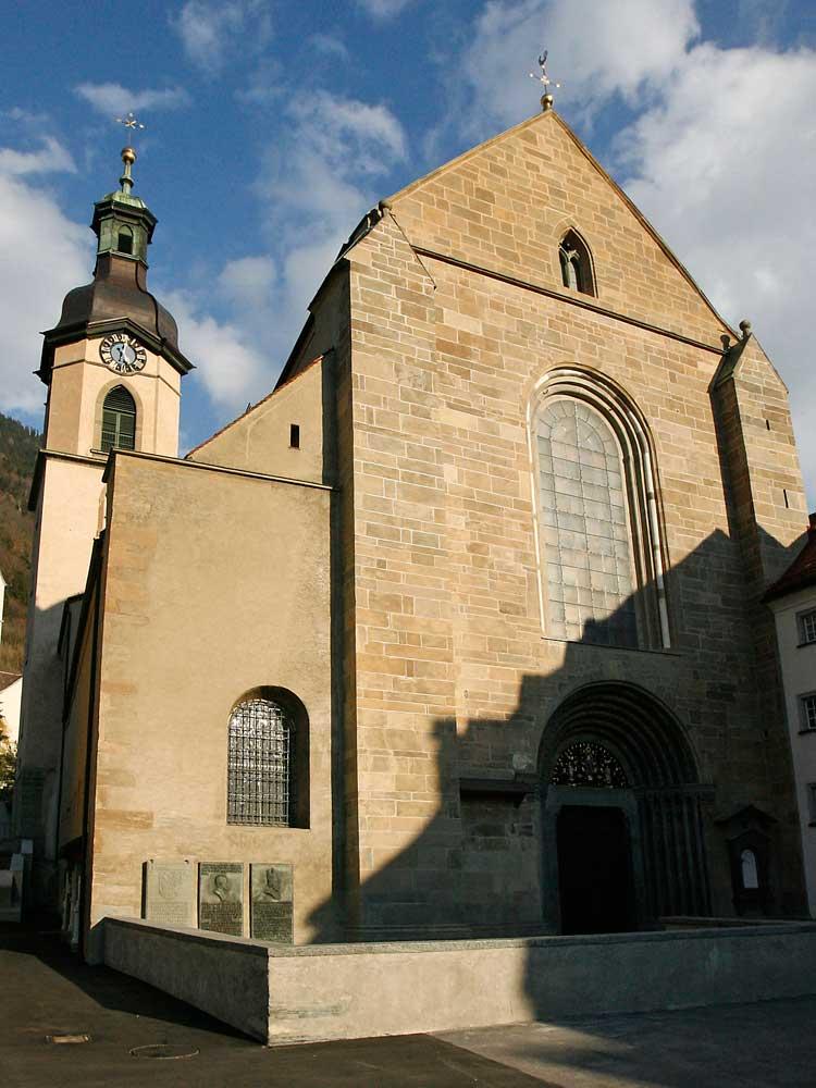 Chur, Katedrála St. Mariä Himmelfahrt Chur © Chur Tourismus Nicola Pitaro