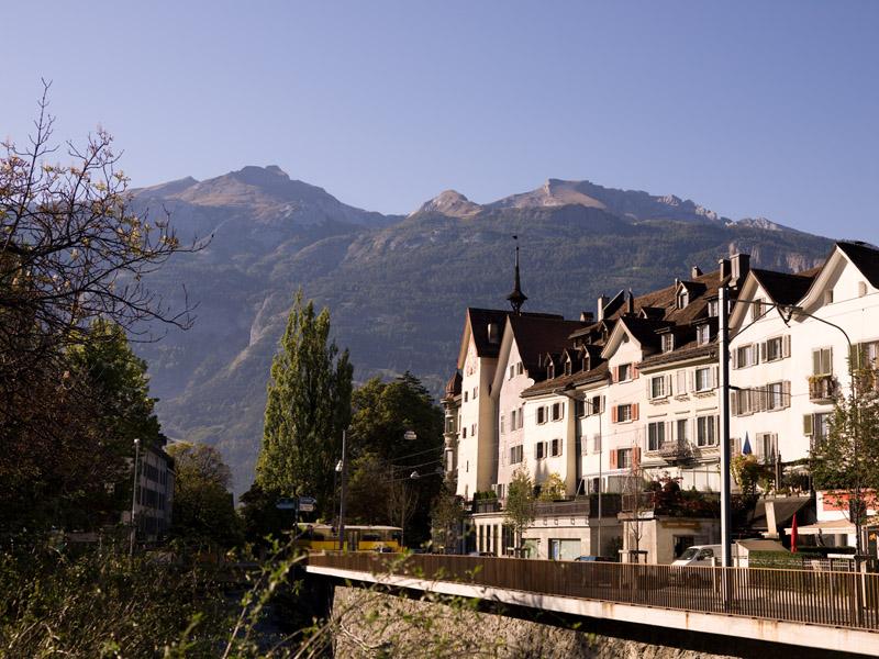 Chur, stare mesto, Calanda © Chur Tourismus/Andrea Badrutt
