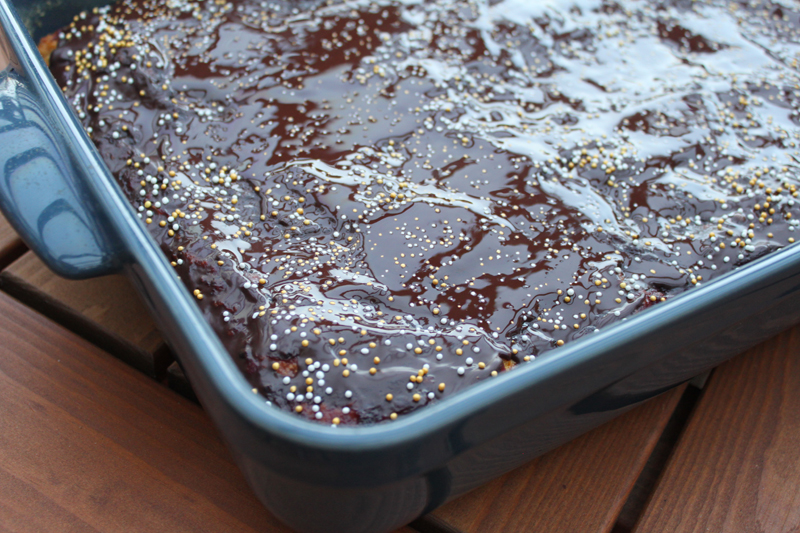 Tekvicovo-orechový koláč
