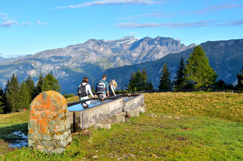 Chur, Turistika na hore Brambrüesch © Chur Tourismus/Claudio Godenzi