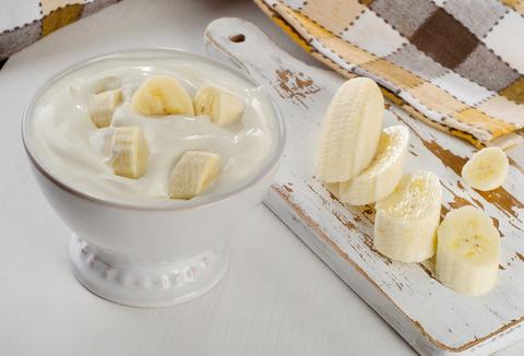 Jogurt s banánom