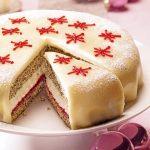 Makovo-marcipánová torta