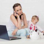 Dieťaťko a telefón