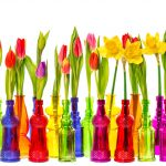 Svieža kvetinová dekorácia