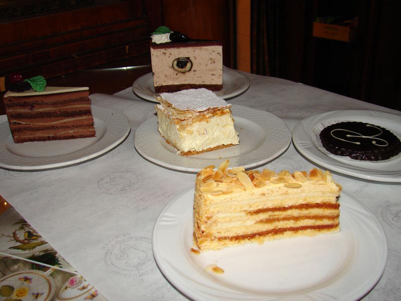 cukrárne Budapešti