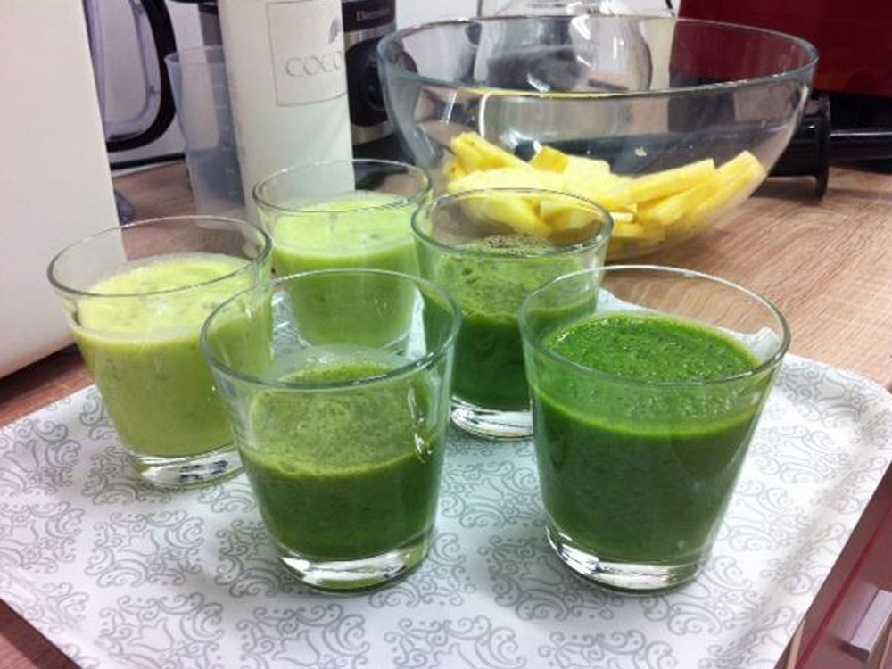 druhy smoothies