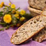Špaldový chlieb s jadierkami