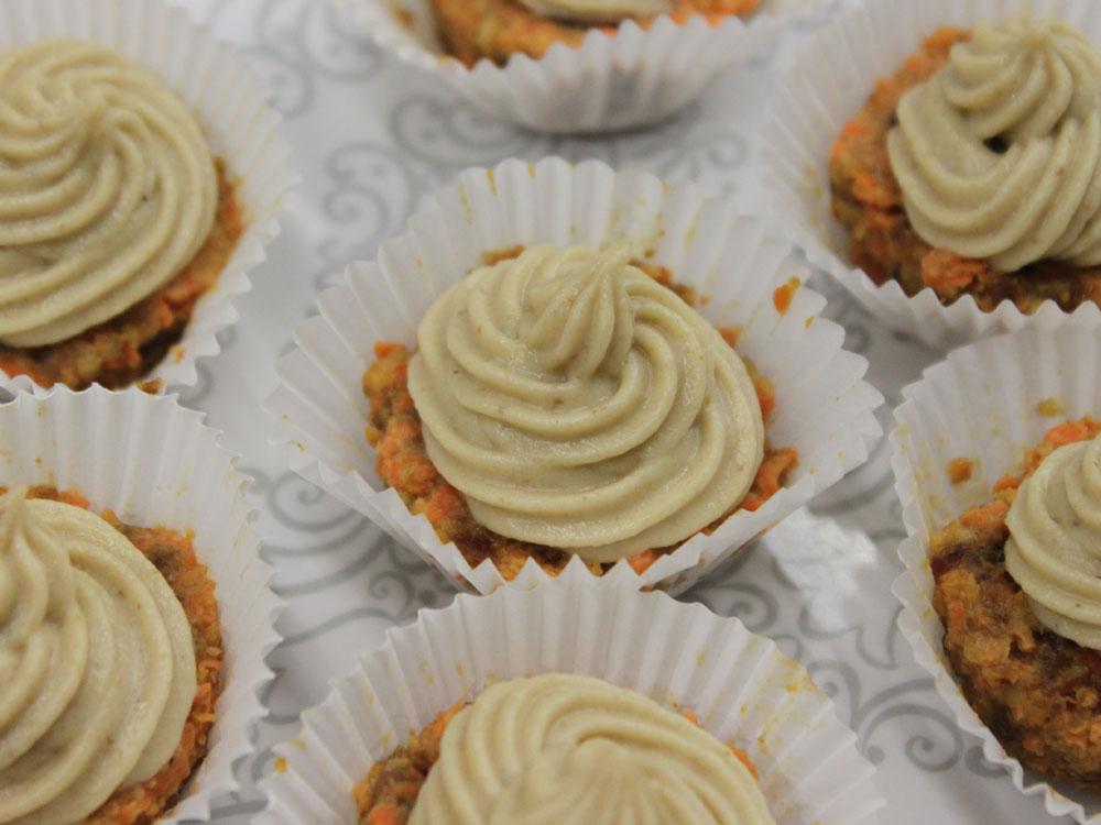 RAW - Mrkvové muffiny