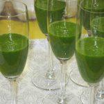 Zelený smoothie kokteil