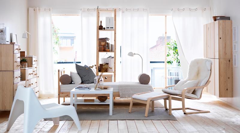 aby obývačka vyzerala väčšia